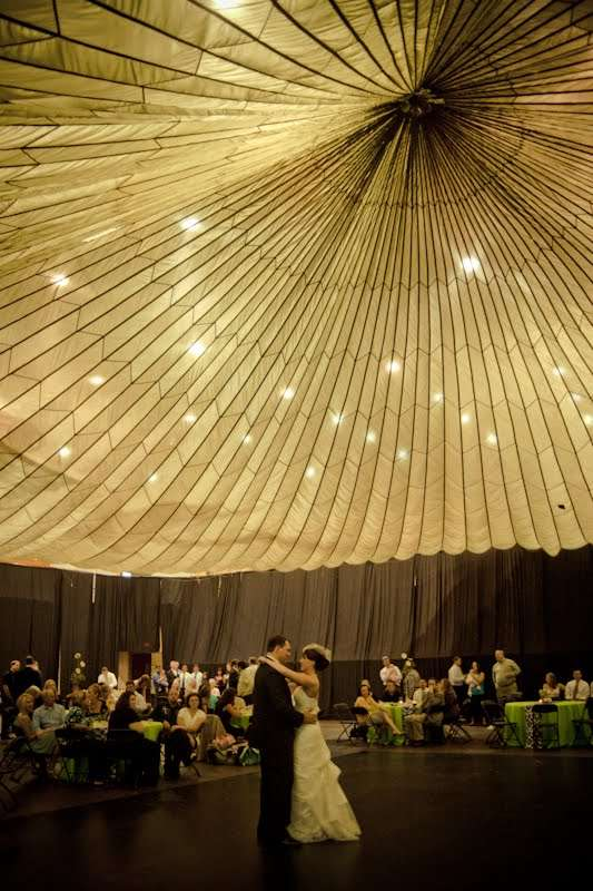 Parachute Wedding Decor