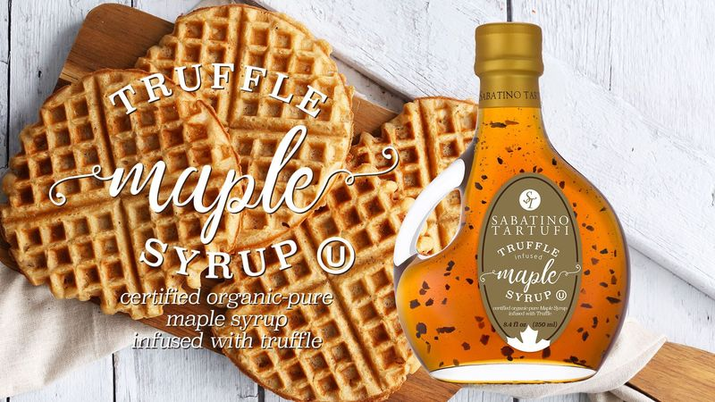 Truffle-Infused Maple Syrups