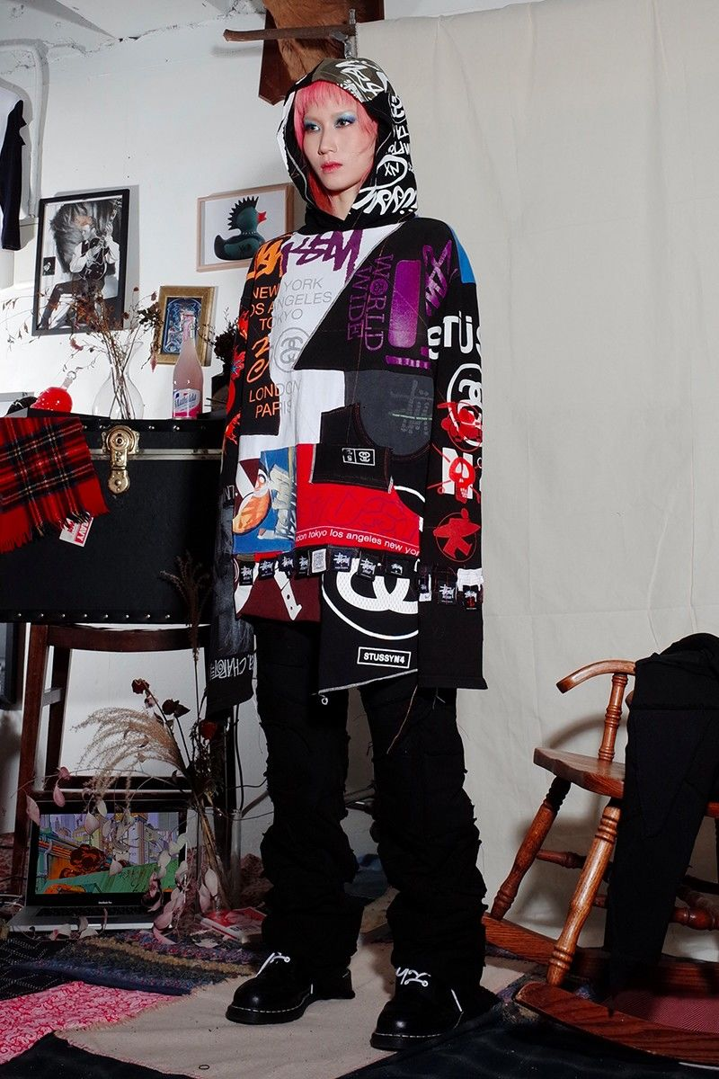 Juxtaposing Punk-Informed Fashion