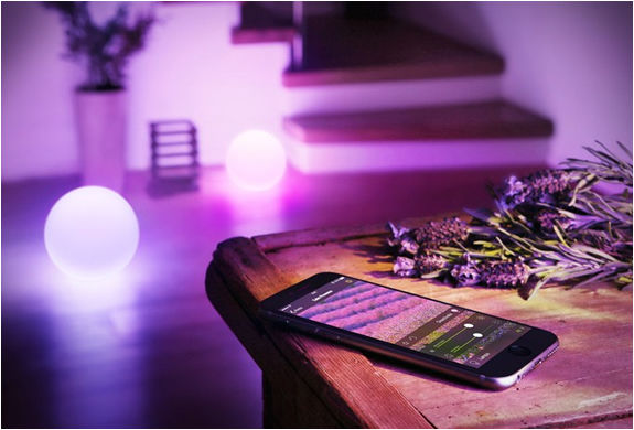 App-Controlled Mood Lights