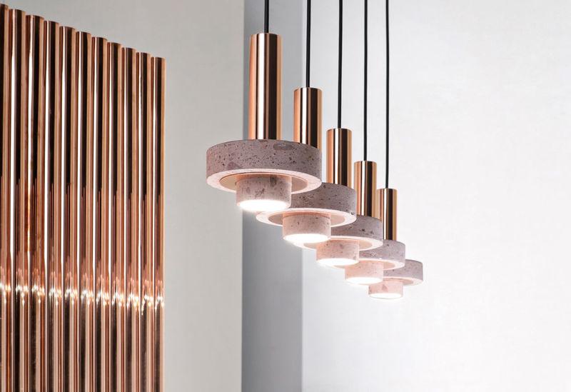 Rose Copper Light Pendants