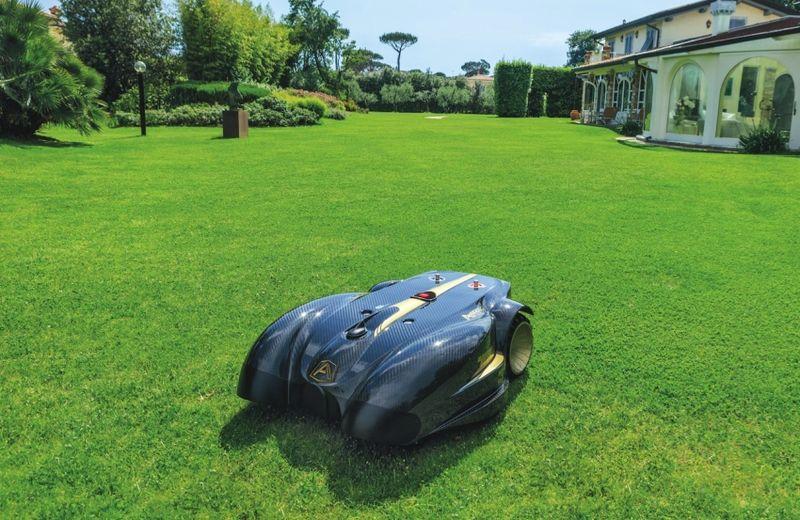 All-Terrain Robotic Lawn Mowers