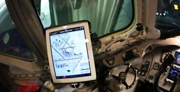 Tablet-Equipped Cockpits