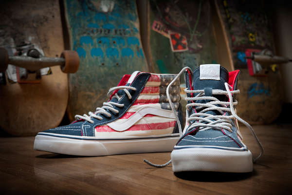 9ed04982dcaf Americana Skater Shoes   American Flag Shoes