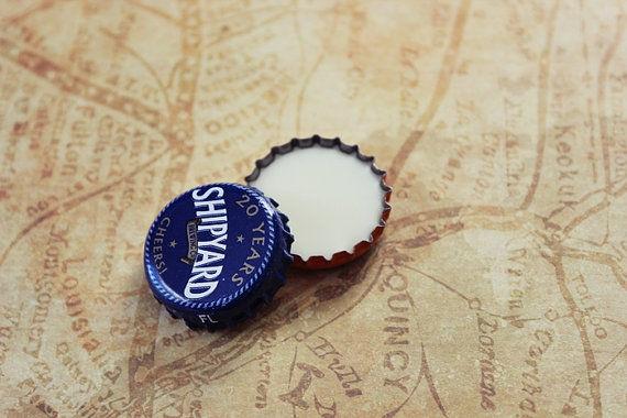 Bottle Cap Balms : American Gentleman Beard Balm