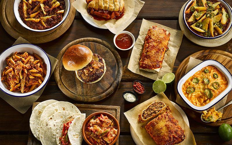 American-Inspired Frozen Meals