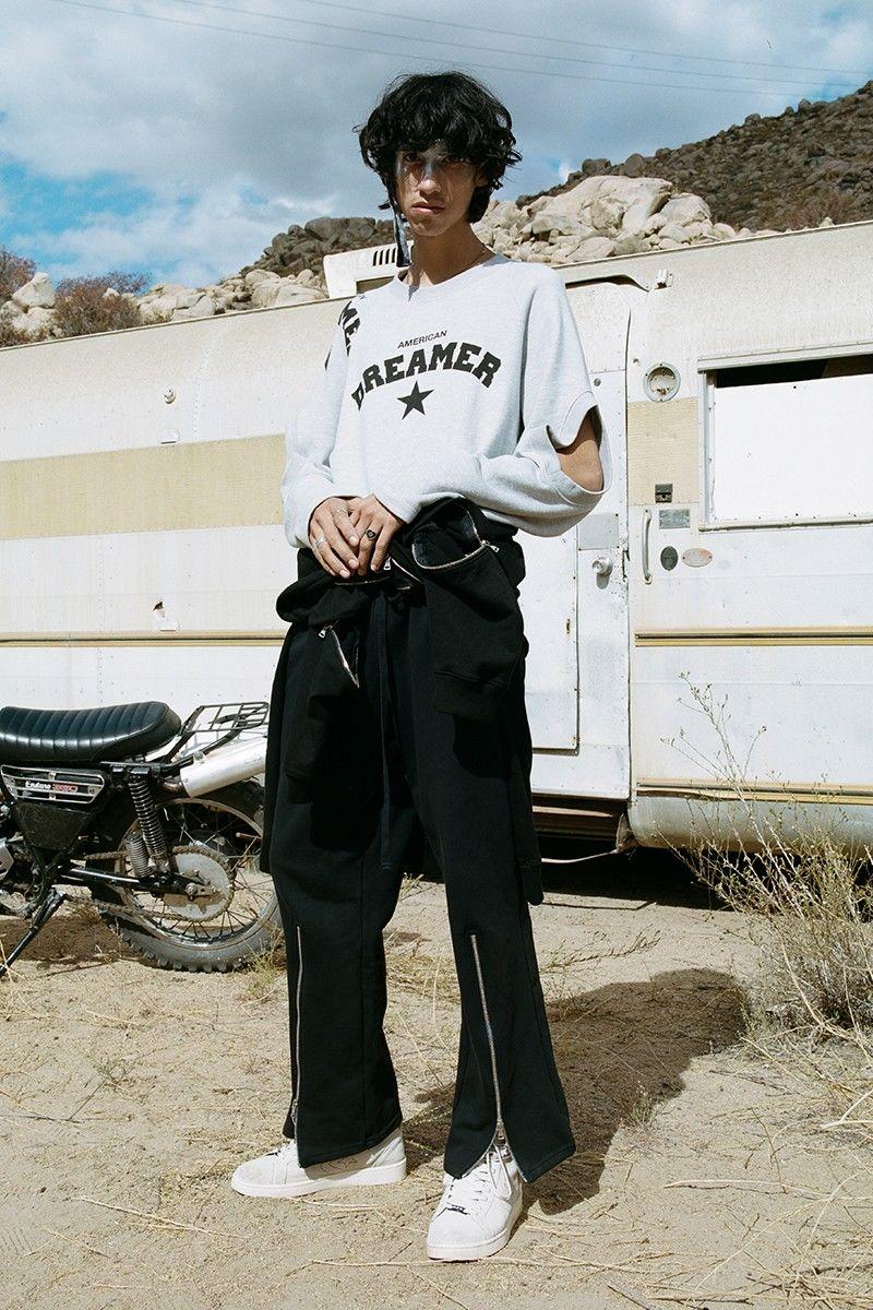 Punk-Inspired Americana Streetwear