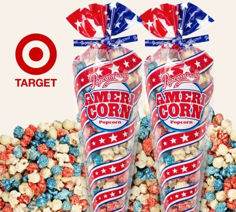 Patriotic Popcorn Snacks