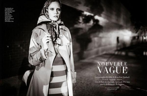 French Cinema-Inspired Fashion
