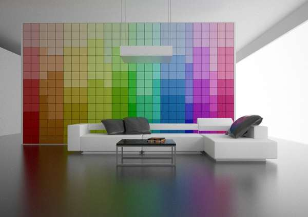 Everchanging Rainbow Walls