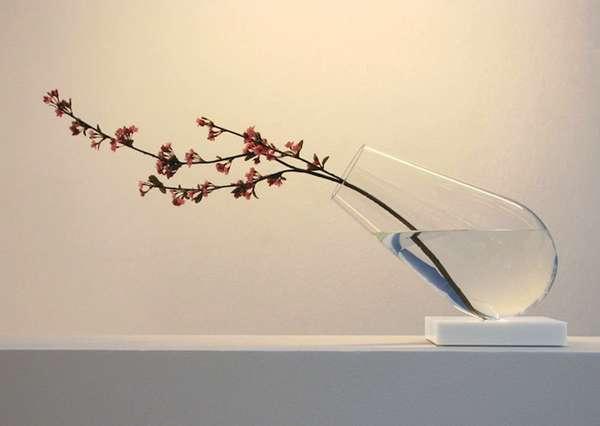 Dangerously Tilting Vases