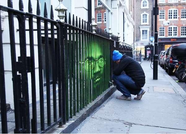 Felon Fence Art Amnesty Fence Street Art