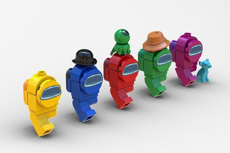 Online Game Inspired Lego Among Us Lego