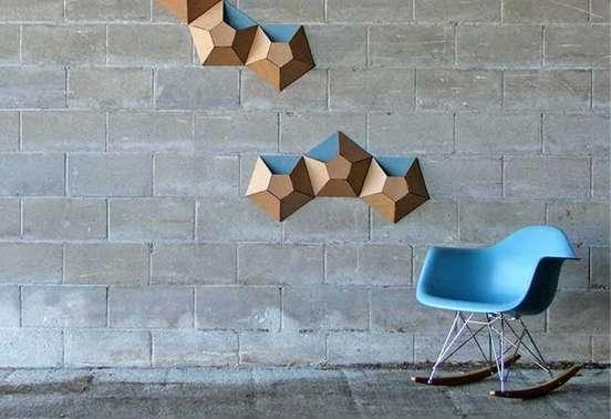 Pentagonal Mural Pockets