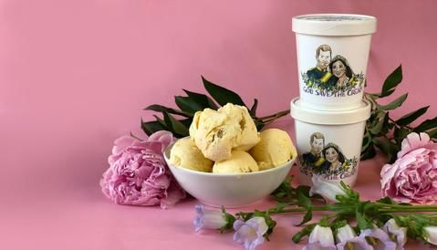Royal Wedding Ice Creams