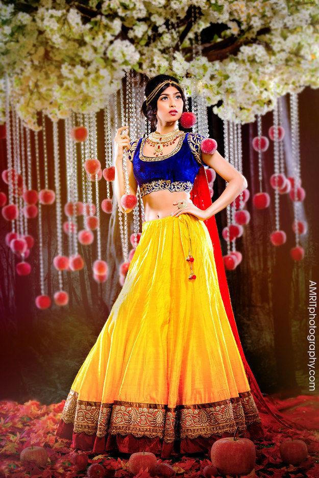 Indian Disney Princess Brides