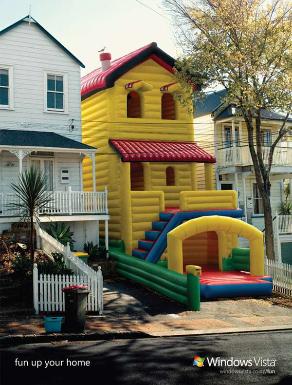 Hom Home balloon house homes windows vista challenges you to up your home