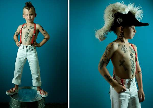 Fierce Child Portraits