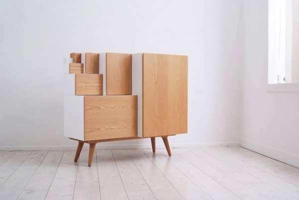 Boxy Modular Cabinets