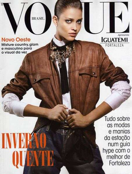 Rugged Cowgirl Chic Ana Beatriz Barros Makes Masculine