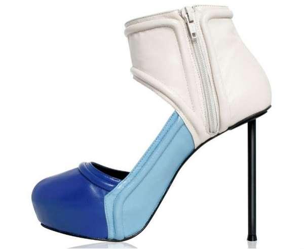 Futuristically Chromatic Footwear