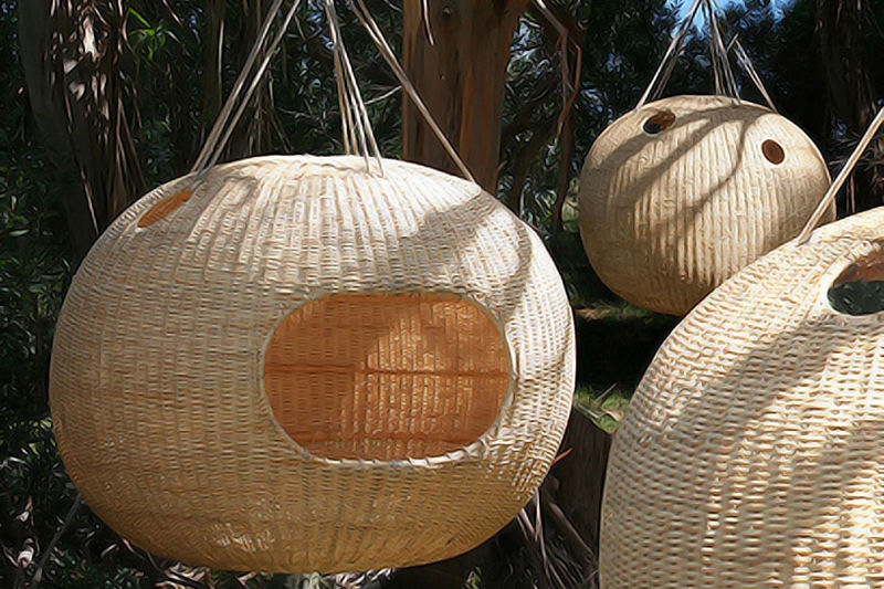 Suspended Woven Dwellings