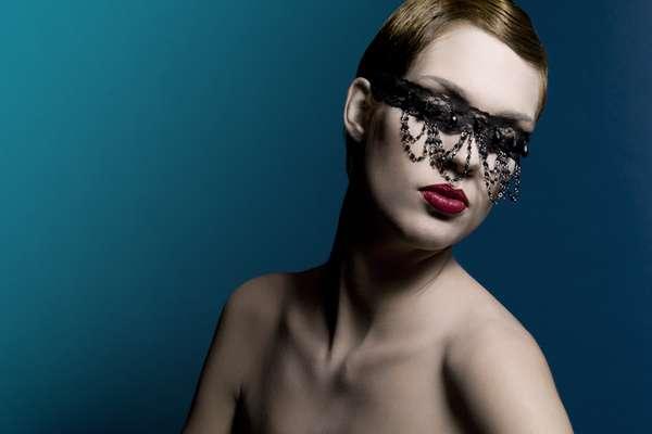 Jewel-Dripping Masks