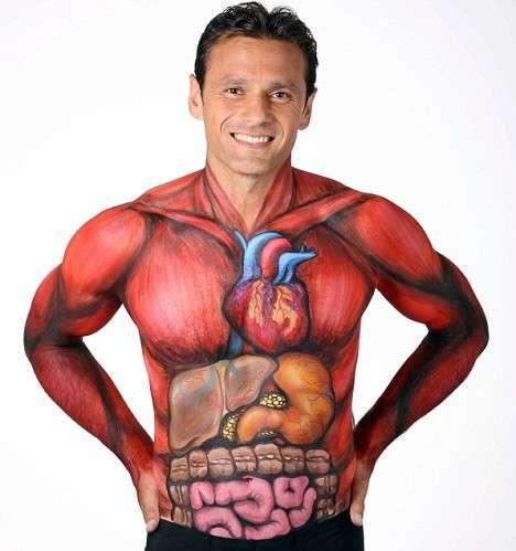X-Ray Body Paint
