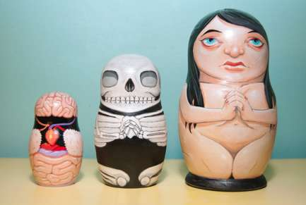 Fleshy Layer Figurines