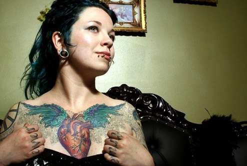 Anatomical Tattoos