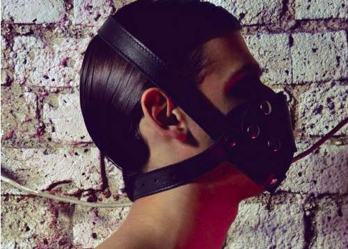 Naughty Leather Masks