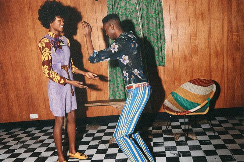 Retro House Party Editorials