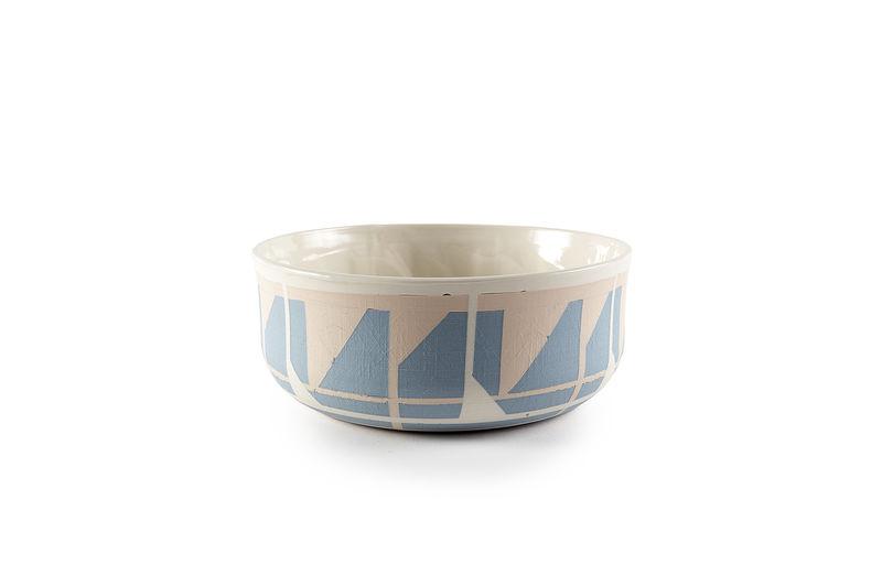 Custom-Inlaid Porcelain Bowls