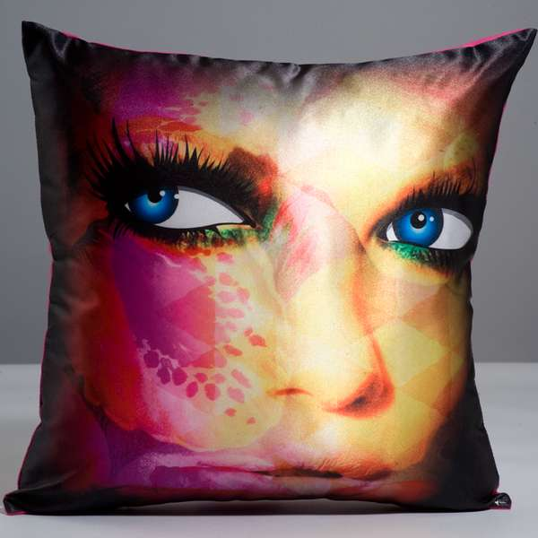 Pop Portrait Pillows