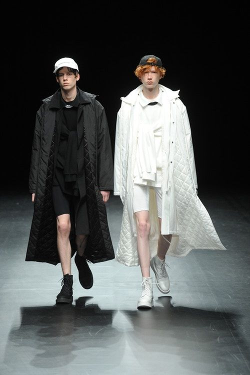 Highly Androgynous Fashion Runways