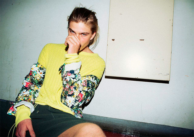 Androgynous Model Candids