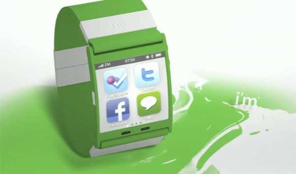 Slick Smartphone Timepieces