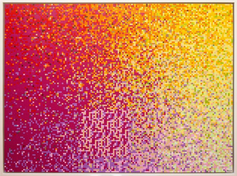 Cryptocurrency Code Art
