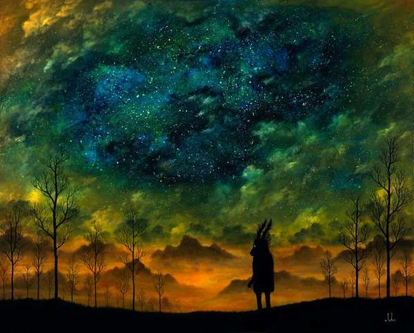 fantastical twilight paintings andy kehoe