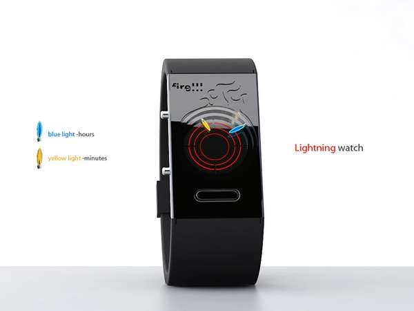Fiery Concept Watches