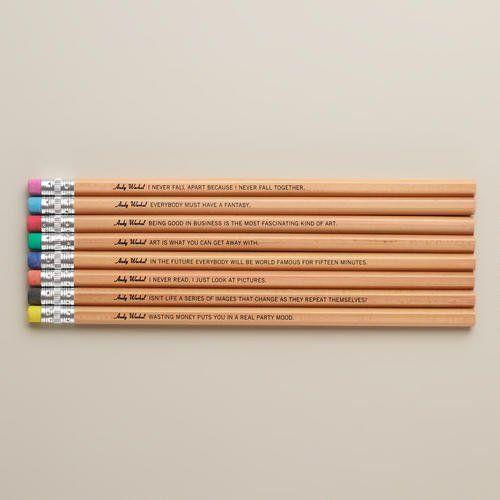 Artist Aphorism Pencils