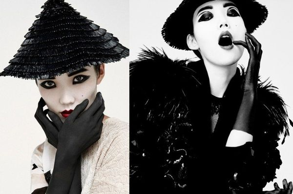 Dramatic Asian-Inspired Editorials