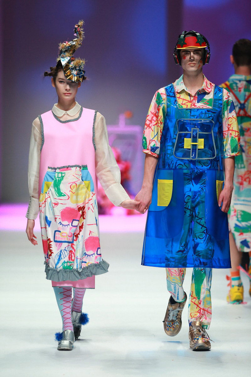 Playful Art School Runways