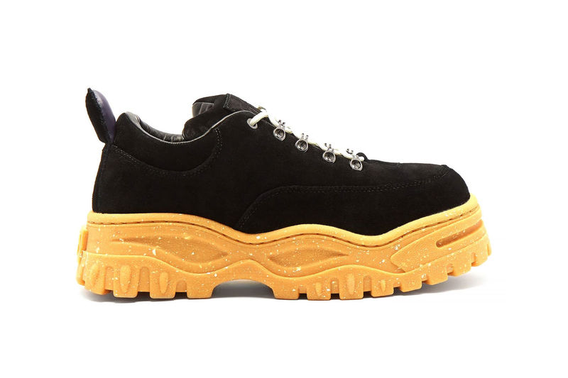 Rubber Speckled Sole Shoes