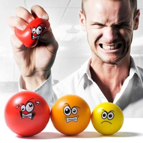 Animated Stress Balls
