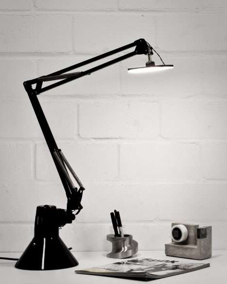 Upside-Down Task Lamps