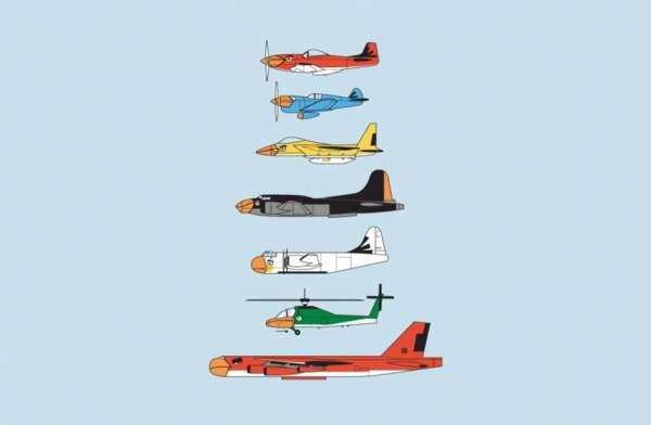 Fighter Avian Aircraft Tees