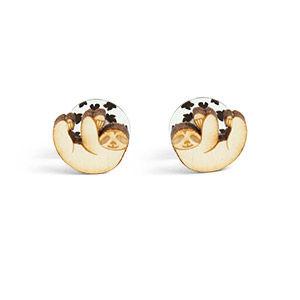 Small Sloth Earrings