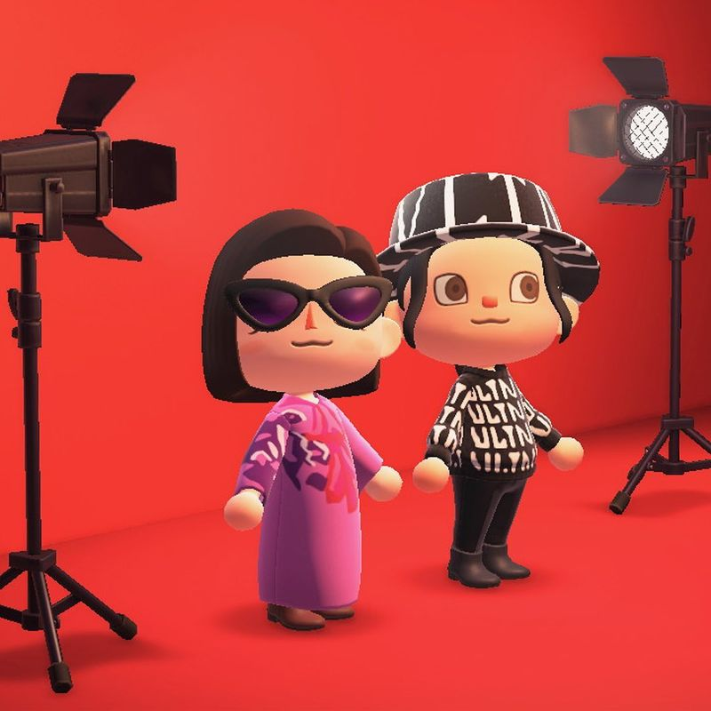 Virtual Video Game Photoshoots