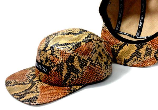 Animal-Inspired Luxury Caps